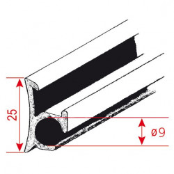 Bended Piping Profile Rail (210/049)