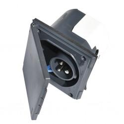 Caravan Supply Plug CEE Grey