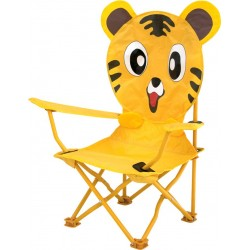 kids folding chair tiger