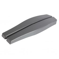 Arm Rests Anthracite 2 Pieces