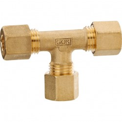 Brass T-Connection Type T