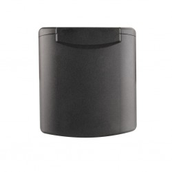 Spare Lid with Magnetic Lock Black