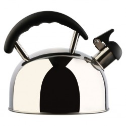 Design Stainless-Steel Whistling Kettle with Sandwich Bottom