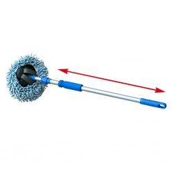 Microfibre Telescopic Mop 2 in 1