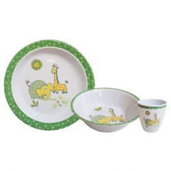 Kids Tableware Set Wildlife