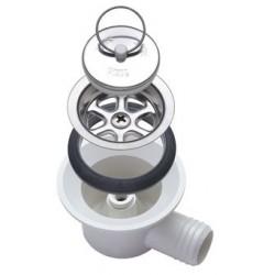 Angled Drain Unit, Drain pipe ΓΈ 20 mm