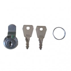 Lock with 2 Keys for Supplying Flap