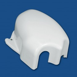 LH End Cap Polar White