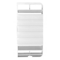 Replacement Exhaust Inset for Dometic Ventilation System L 100, White