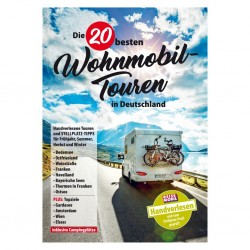 The 20 most recommendable caravan tours in Germany