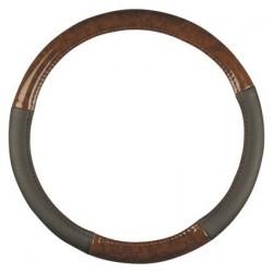 Steering Wheel Cover Burl Wood Design