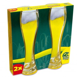 Wheat Beer Glass Set of 2