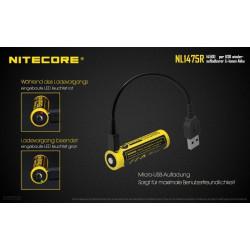 NiteCore 14500 USB Li-Ion...