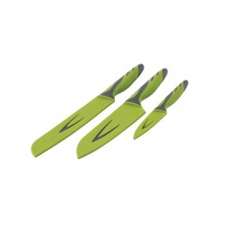 Knife Set 3-Pieces Green