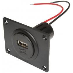 Built-in Socket with Mounting Plate