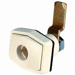 Doorframe Lock Rectangular White