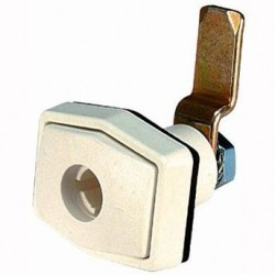 Doorframe Lock Rectangular White