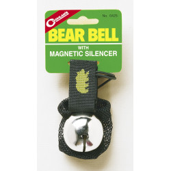 CL Bear bell silver