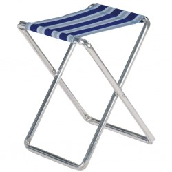 Folding Stool Blue-Grey