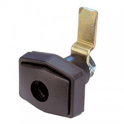 Doorframe Lock Rectangular Black