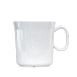 WA Melamine mug 400 ml white