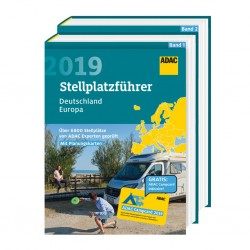 ADAC Campsite Guide Germany / Europe