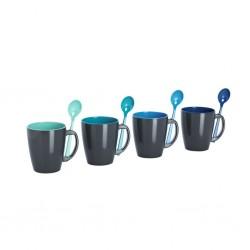 Cup Set Delfin Grey