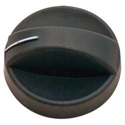 Turning Knob for Cramer Hobs, EK 2000, CE88 / CE94, Black, 4 Pcs.