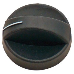 Turning Knob for Cramer Hobs, EK 2000, CE88 / CE94, Black, 4 Pcs.
