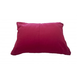 BasicNature Travel pillow red