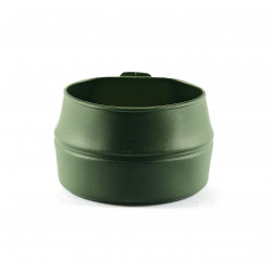 Folding cup green olive
