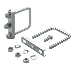 Clamp with Fixing for V-towing bar