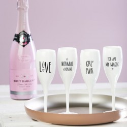 Champagne Stemware Set Cheers