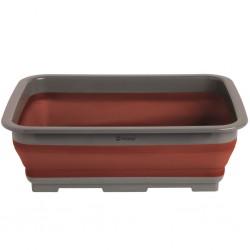 Folding Washing-Up Bowl Terracotta