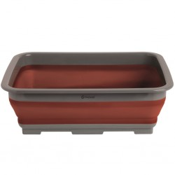 Folding Washing-Up Bowl Terracotta