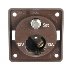 Integro 12 V and SAT Brown Matt