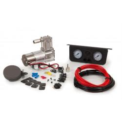 Κομπρεσέρ για αερόφουσκες NEW και διπλό μανόμετρο universal
