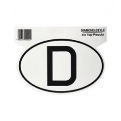Nationality Sticker Germany 18 x 12 cm