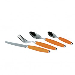 Cutlery Set 16 Pieces Orange