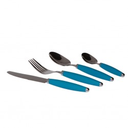 Cutlery Set 16 Pieces, Turqouise