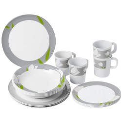 Tableware Set Tulip, 16 Parts