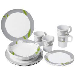 Tableware Set Tulip, 16 Parts