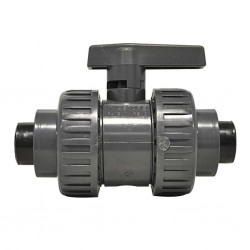 "Ball Valve 1"" with Adapter Fitting"