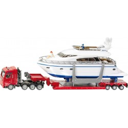 Heavy Haulage Truck with Yacht