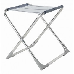 Folding Stool Soul, Silver/Anthracite