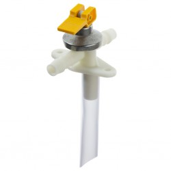 Drain Valve ABO 2.8 – 3.5 bar Fir Tree, Yellow