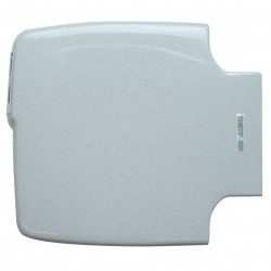 Toilet Seat with Cover Beige