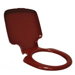 Toilet Seat with Cover PPQ 145/165/345/365 Red