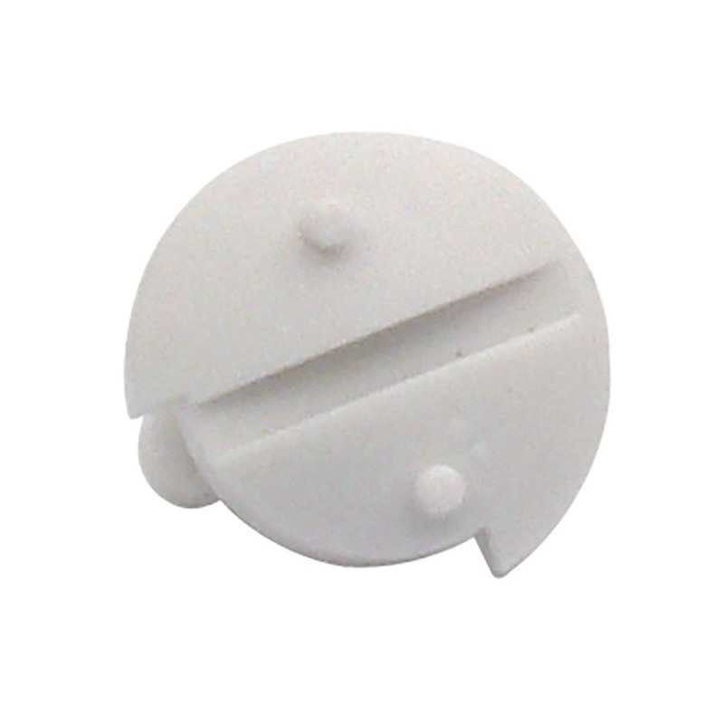 Locking Screw for Dometic Ventilation Grille L + Winter Covers, White