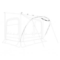 Tent Poles Roof Arch, ΓΈ 9...